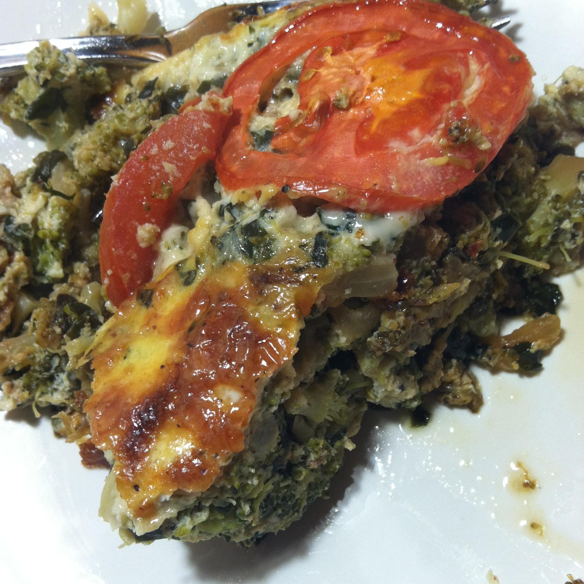 Garden Vegetable Crustless Quiche: Healthy And Easy Crustless Summer Vegetable Quiche