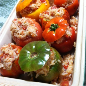 Stuffed Tomatoes (3)