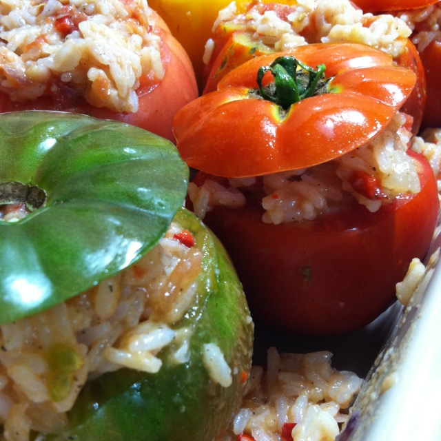 Stuffed Tomatoes (6)